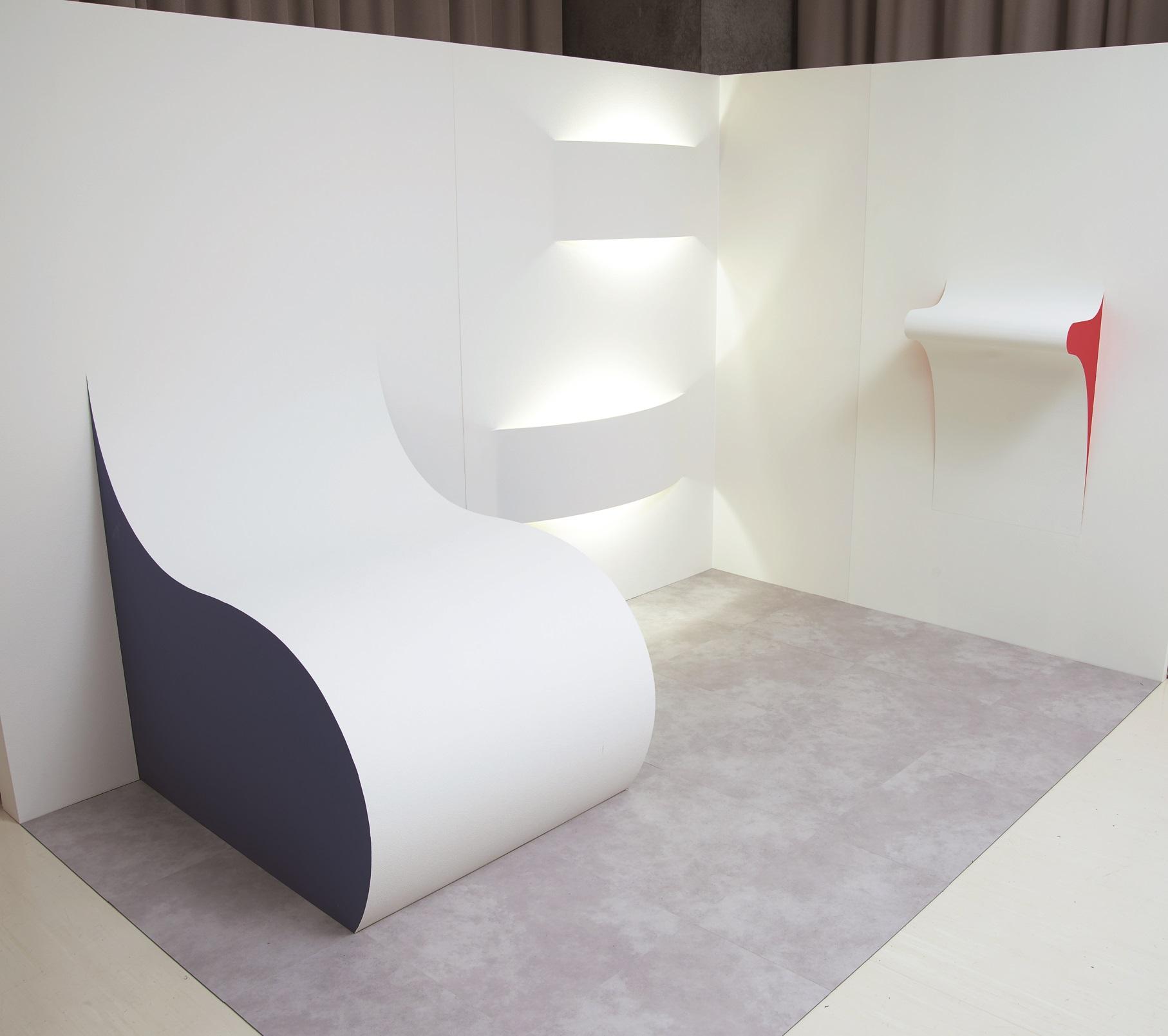 壁紙解放 壁紙から提案する新しい意匠のカタチ 2016年度 空間